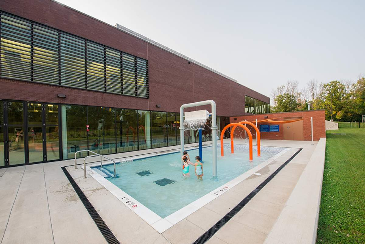 Jewish community center work cjs architects buffalo for Pool design rochester ny