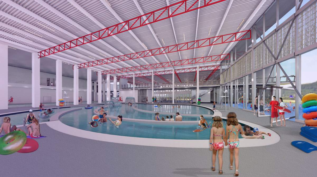 Jcc fitness center expansion complete news cjs for Pool design rochester ny