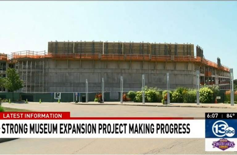 Strong Museum construction project making progress