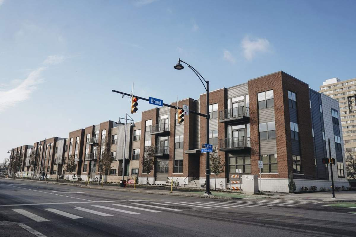 VIDA Rochester, a new luxury apartment complex, is being built on land that was once highway.