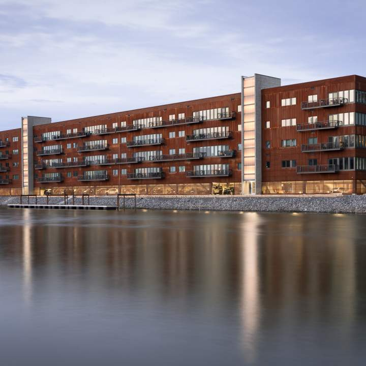 Mixed use residential work cjs architects buffalo for Residential architects rochester ny