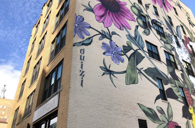 The Flowery Side of Downtown Buffalo