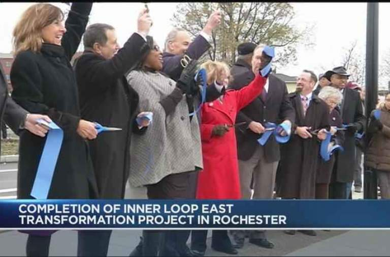 Ribbon Cutting Ceremony marks end of Inner Loop East Transformation Project