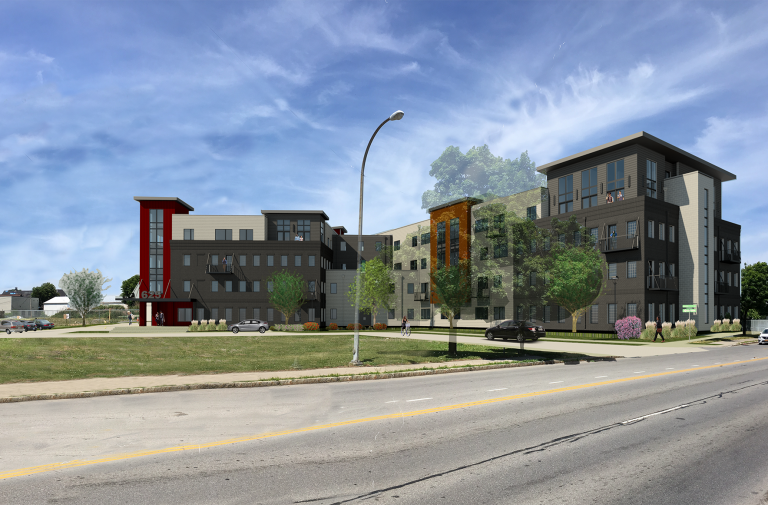 New luxury apartments on S. Goodman St. to open in March 2020