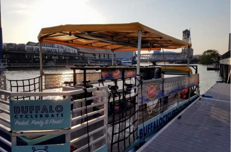 Buffalo CycleBoats adds a second pedal craft – 301 Ohio Street is the newest party destination