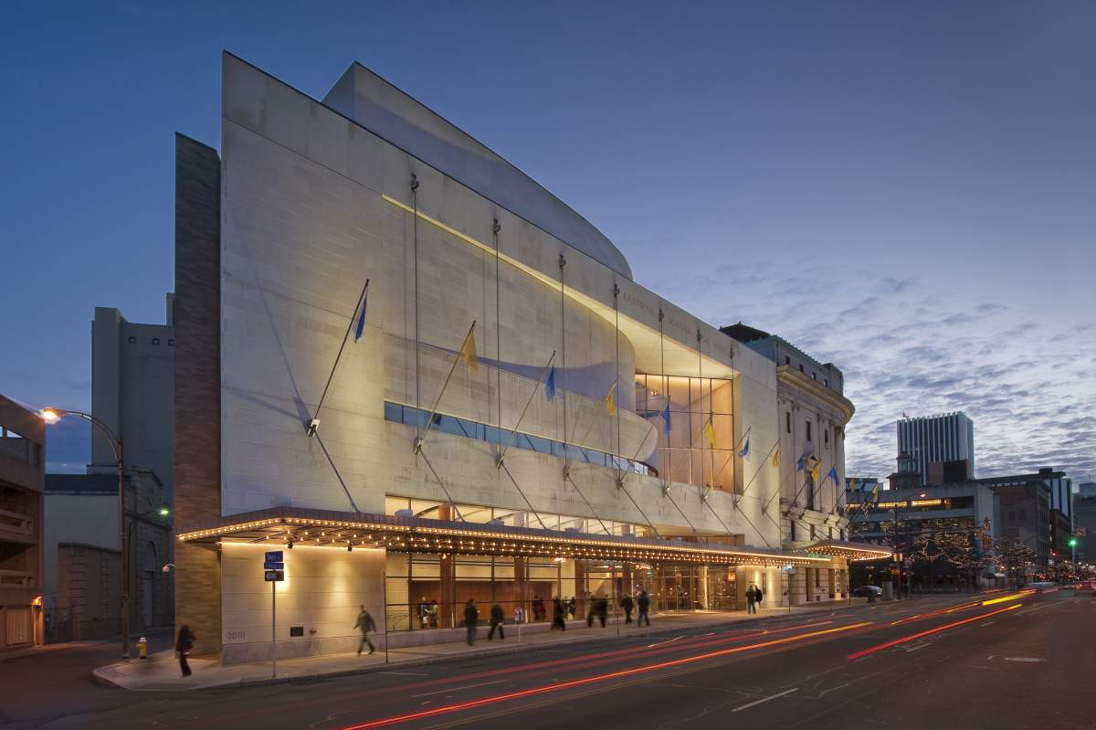 Eastman theatre expansion work cjs architects for Architects rochester ny