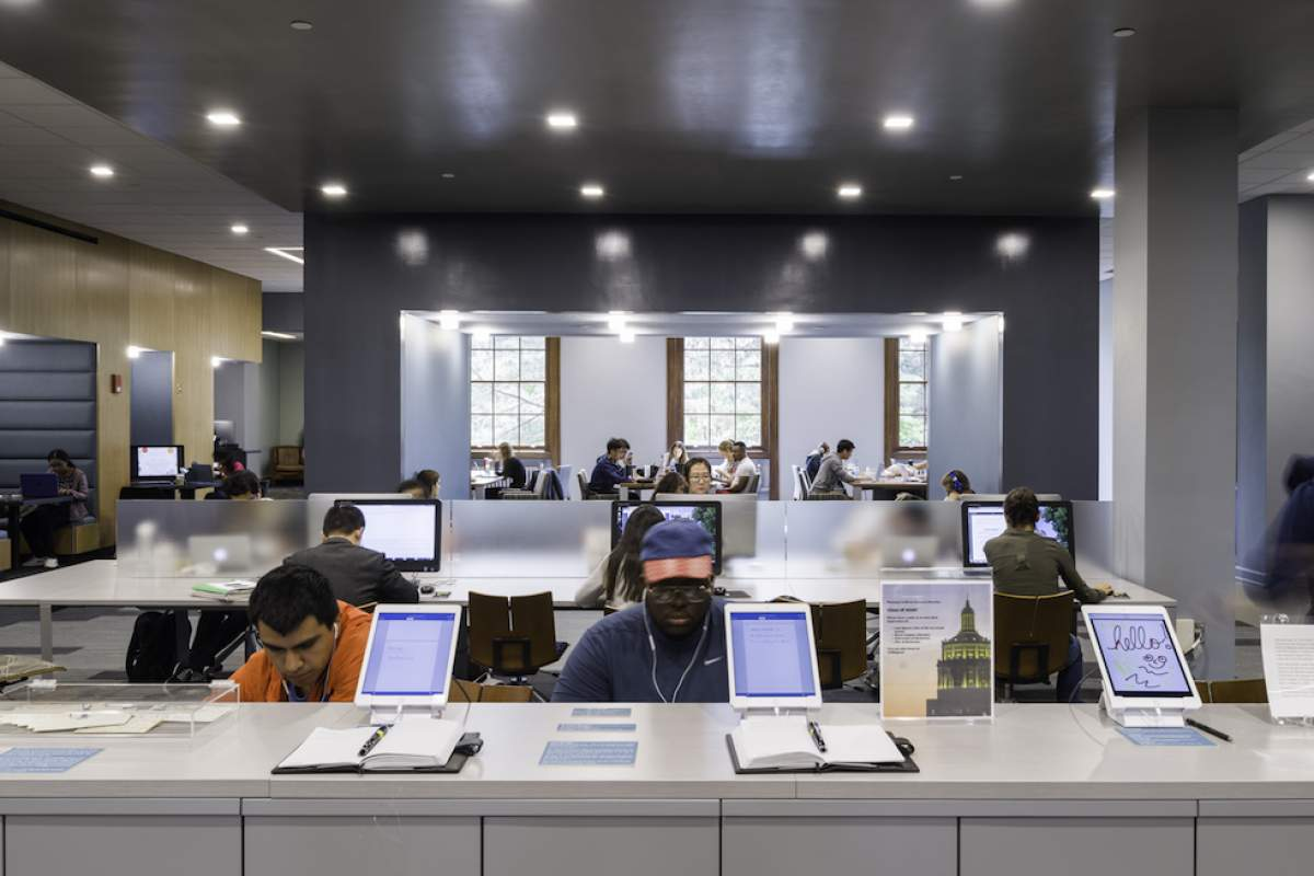 Evans Lam Square Offers New Approach To Library Design News CJS Architects